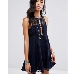 NWT Free People Wherever You Go Dress